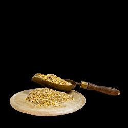 GOLDPICK Legemehl mit Futterschaufel und Brett